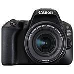 CANON - EOS 200D Kit 18-55 IS STM Sensore CMOS 24 Mpx...