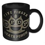ROCK OFF - Five Finger Death Punch - Brass Knuckle (Tazza)