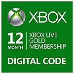 MICROSOFT - Abbonamento Xbox Live Gold Di 12 Mesi - Esd -...