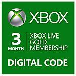 MICROSOFT - Abbonamento Xbox Live Gold Di 3 Mesi - Esd -...
