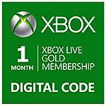 MICROSOFT - Abbonamento Xbox Live Gold Di 1 Mese - Esd -...