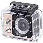 TREVI - Videocamera Sport Con Custodia Subacquea Go 2200...