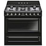SMEG - Cucina Elettrica TR90BL9 5 Fuochi a Gas Forno...
