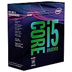 INTEL - Processore Core i5-8600K (Coffee Lake-S) Hexa-Core...