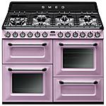 SMEG - TR4110RO Cucina a Gas 7 Zone Cottura con Forno...