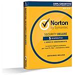 SYMANTEC - Norton Security Deluxe 1 Licenza per 5 Dispositivi...
