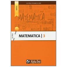 Matematica. Vol. 3