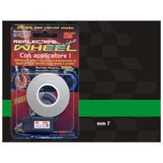 Wheel Stripes Rifrangenti Verde 7 mm x 6 mt con applicatore