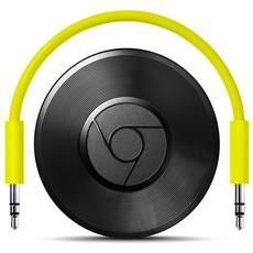Chromecast Audio per Altoparlanti con Wi-Fi Colore Nero