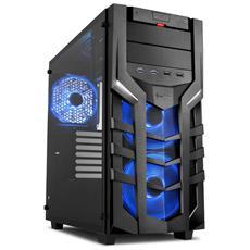 Case PC DG7000-G RGB Midi Tower Mini-ITX / Micro-ATX / ATX 2 Porte USB 3.0 Colore Nero