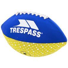 Quarterback Palla Football Americano Da Spiaggia (taglia Unica) (blu / giallo)