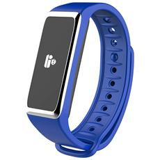 Activity Tracker ZeFit 2 Resistente all'acqua IP67 con Bluetooth Blu - Europa