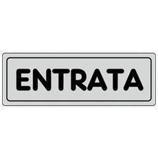 Cartelli segnaletici adesivi Pubblicentro - entrata - 15909040ADB0150X0050