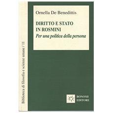 Diritto e stato in Rosmini. Per una politica della persona