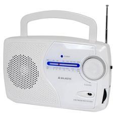 Radio Portatile RT-181 Sintonizzatore FM / AM / SW colore Bianco