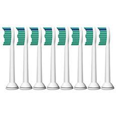 Testine di Ricambio ProResults per Spazzolino Elettrico Sonicare HX6018/07