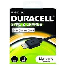 Cavo Lightning USB5012A da 1 m - Nero