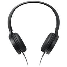 Cuffia con Microfono Cablato RP-HF300E-K Colore Nero