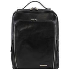 bangkok zaino porta notebook in pelle nero tl141289/2