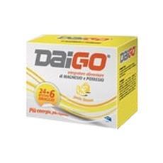 Daigo Magnesio E Potassio Bustine Limone 240g