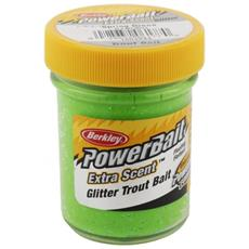 Pasta Powerbait Glitter Trout Bait Verde Unica