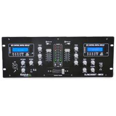 Dj Mixer A 2 Canali Usb, Sd & Bluetooth