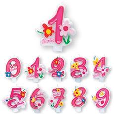 Barbie - Candelina Numero 8