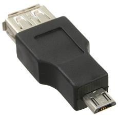 31604 USB Micro-B USB A Nero cavo di interfaccia e adattatore