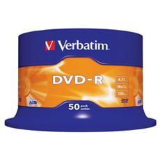 DVD-R 16x Adv AZO 4,7GB Spindle 50 pz