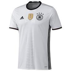 Maglia Germania Home Euro 2016 Bianco Nero Xl
