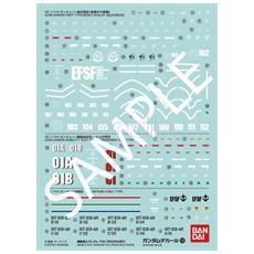 Model Kit Gundam Decal 113 Gundam Origin Multi 2 Accessori