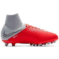 766a79399155fd Calcio Junior Nike Hypervenom Phantom Iii Academy Df Pro Ag Scarpe Da Calcio  Eu 38