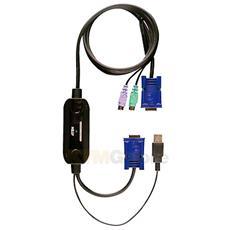 CV131B USB VGA Nero cavo di interfaccia e adattatore