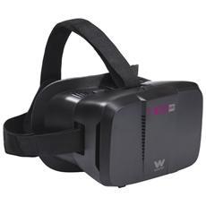 Neo VR1, Basato su smartphone, Nero, Monotone, Acrilonitrile butadiene stirene (ABS)