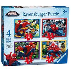 Puzzle Ultimate Spider-Man 4 X 72 pz 19 x 14 cm 7363