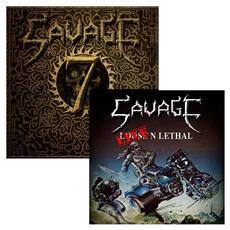 Savage - Live N Lethal / Seven (2 Cd)