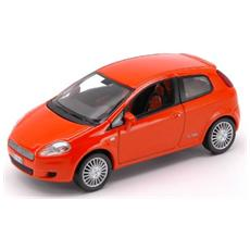 Nv771064 Fiat Grande Punto 3 P'05 Orange 1:43 Modellino