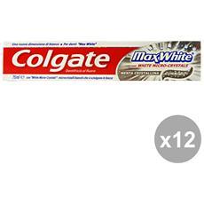 Set 12 Dentifricio Max White 75 Ml. Prodotti Per Il Viso