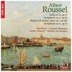 Detroit Symphony & New York Philharmonic & Philharmonia Orchestra - French Music : Albert Roussel