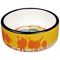 Ciotola In Ceramica Di Shaun, Vita Da Pecora (0.3 L) (arancio)