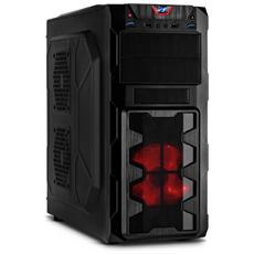 GM-X02, Torre, PC, ATX, Micro-ATX, Giocare, Nero