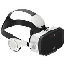 Neo VR5, Basato su smartphone, Bianco, Monotone, Acrilonitrile butadiene stirene (ABS)
