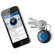 Smart Key Accessorio con Allarme Sonoro per Connessione delle chiavi con iPhone - Nero