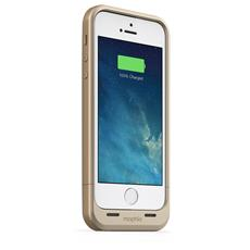 mophie juice pack air per iPhone SE, 5/5s - oro