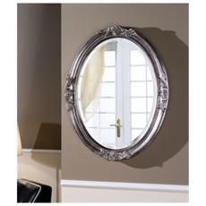 Specchio In Legno Artigianale - Made In Italy