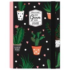Agenda Small 2020 Giornaliera 16 Mesi Legami Cactus