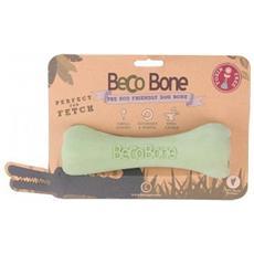 Gioco Osso BecoBone Verde Medium: 17,5 cm