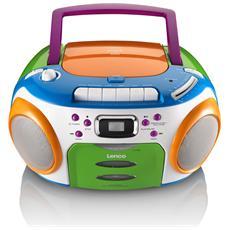 SCR-97 MP3 Kids, Digitale, FM, Lettore, CD, CD-R, CD-RW, Singolo, MP3, WMA