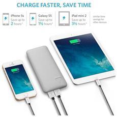 78099, Argento, Smartphone, Tablet, Polimeri di litio (LiPo) , USB