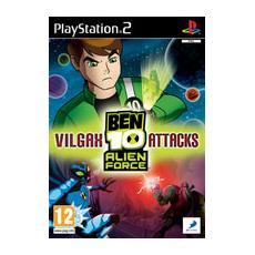 PS2 - Ben 10 Alien Force: Vilgax Attacks Ita